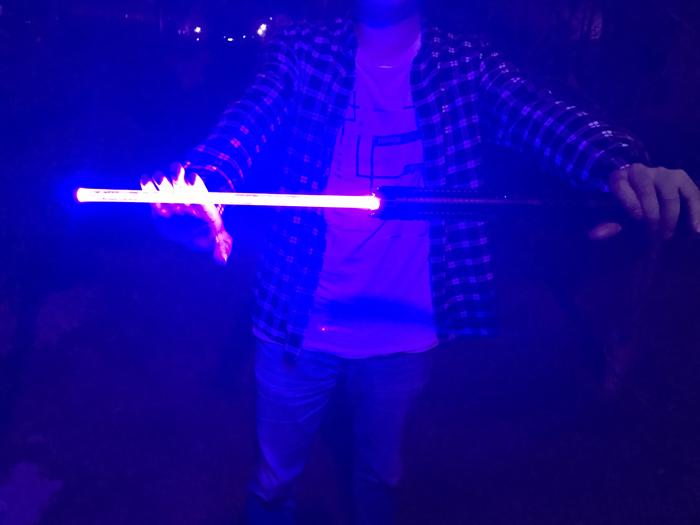 世界最強 超高出力、超強力レーザーポインター青色
