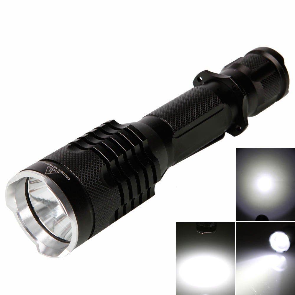懐中電灯 防水機能付き 強力