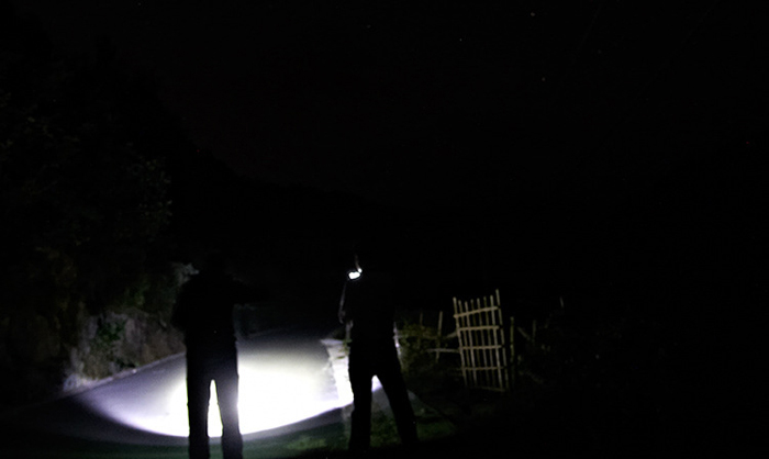 レーザーポインター LEDライト