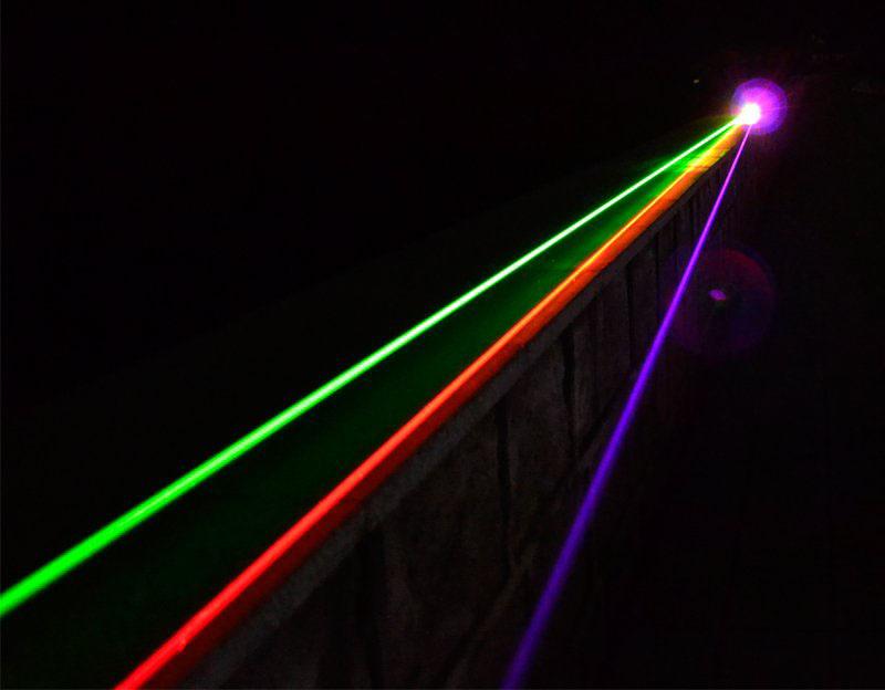 レーザーポインターledライト