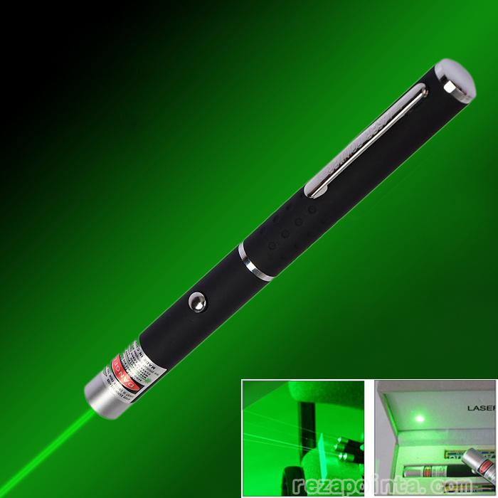 ペン型レーザーポインター グリーン