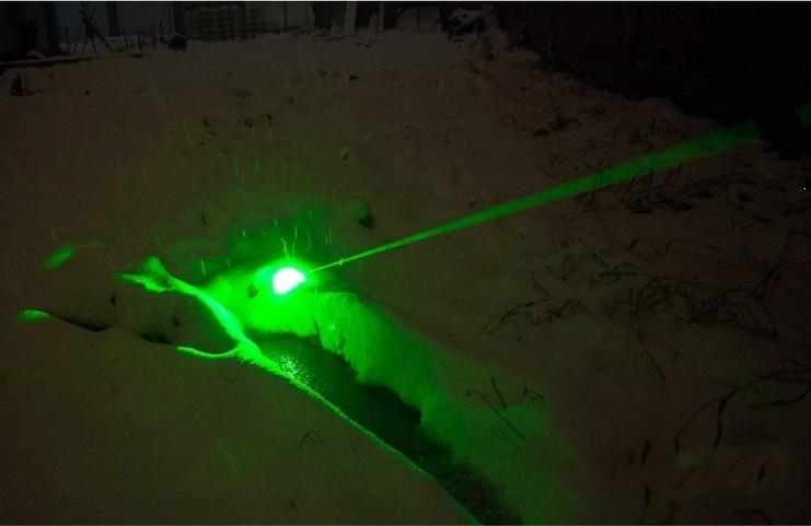 グリーンレーザーポインター 固定焦点