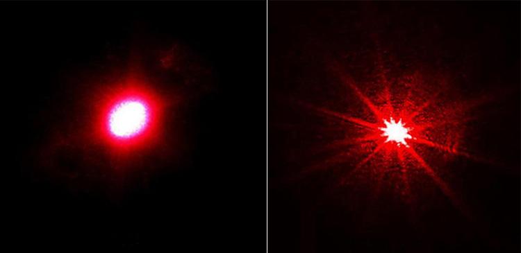 レッドレーザーポインター 星空観察
