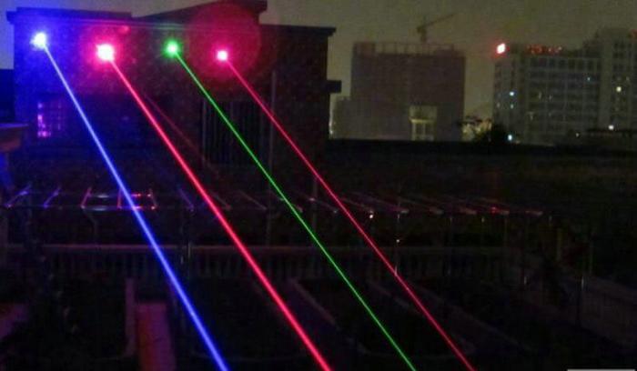 赤外線レーザーポインター2000mw
