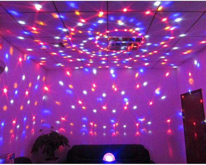 音声起動LED水晶魔球