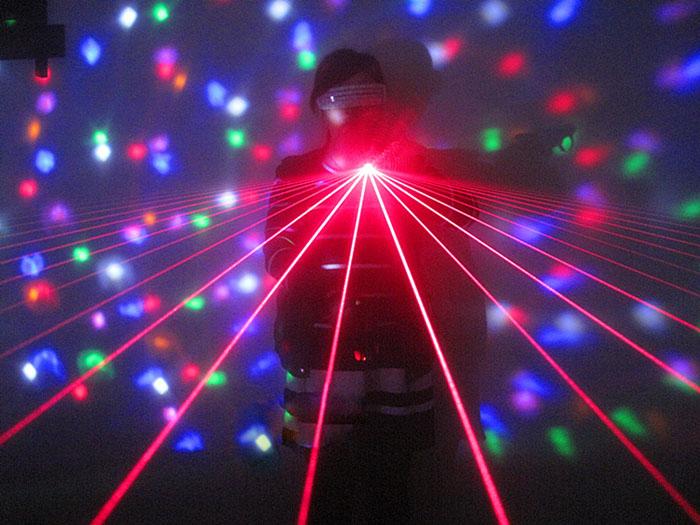 緑レーザーdjクラブ手袋パーティーのためにLED レーザー 手袋