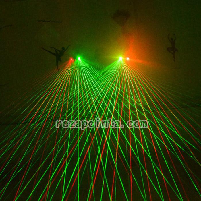 緑色レーザーグローブ
