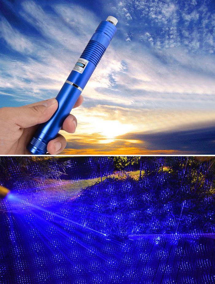 20w青色レーザーポインター