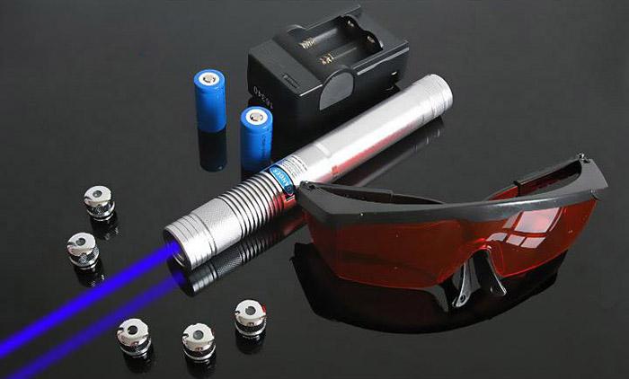 青色光20000mw レーザーポインター