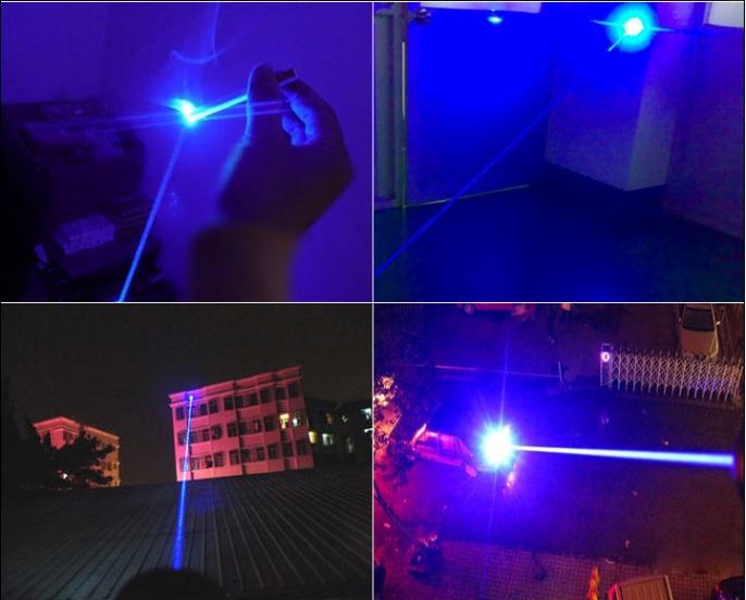 5000mwブルー超高出力レーザーポインター