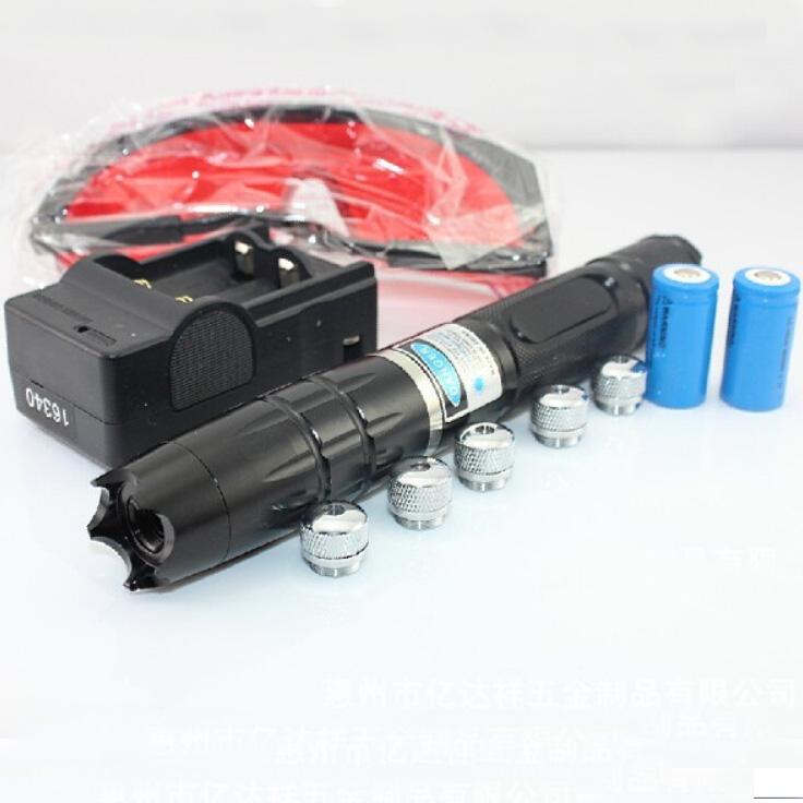 新品レーザー万華鏡 5000mwブルー超高出力レーザーポインター 870機能が強くて  満天の星 5in1