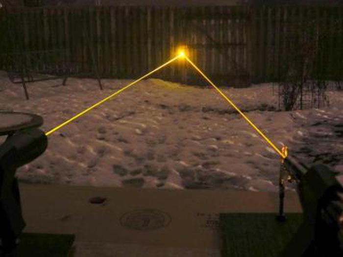 黄色レーザーポインター