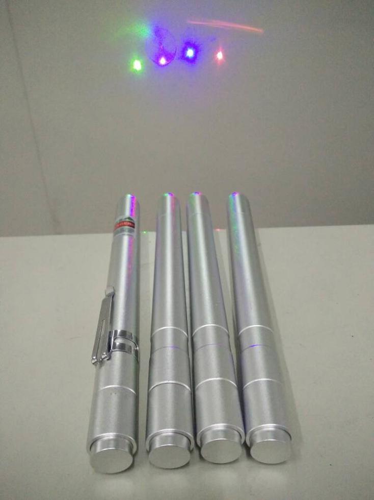 紫光赤色ペン型レーザーポインター200mw