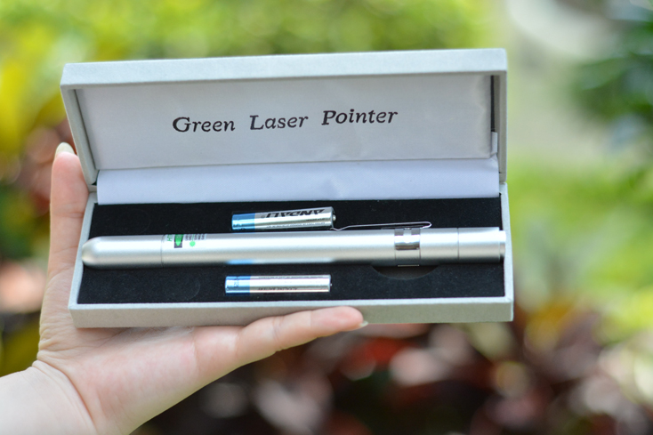 紫光レーザーポインターペン型