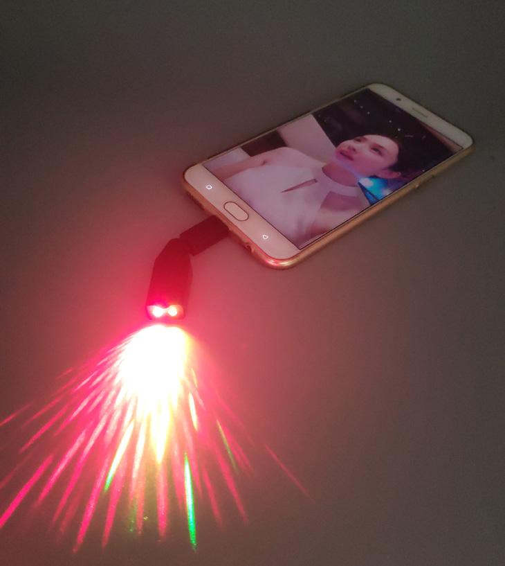 携帯型レーザー
