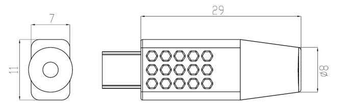 50mw小型レーザー