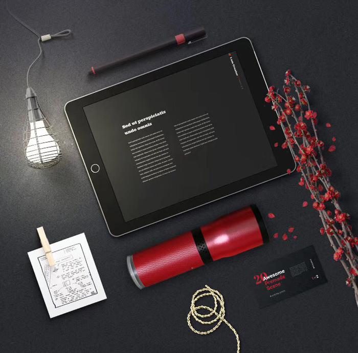 小型Bluetoothスピーカーライト