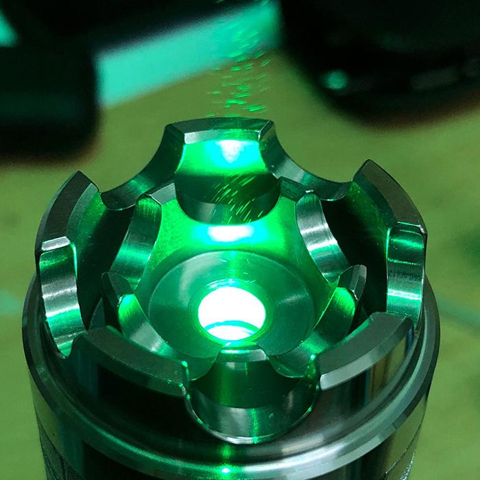 7色RGBレーザーポインター