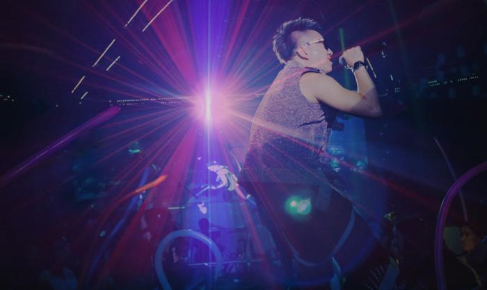ミニレーザー舞台照明