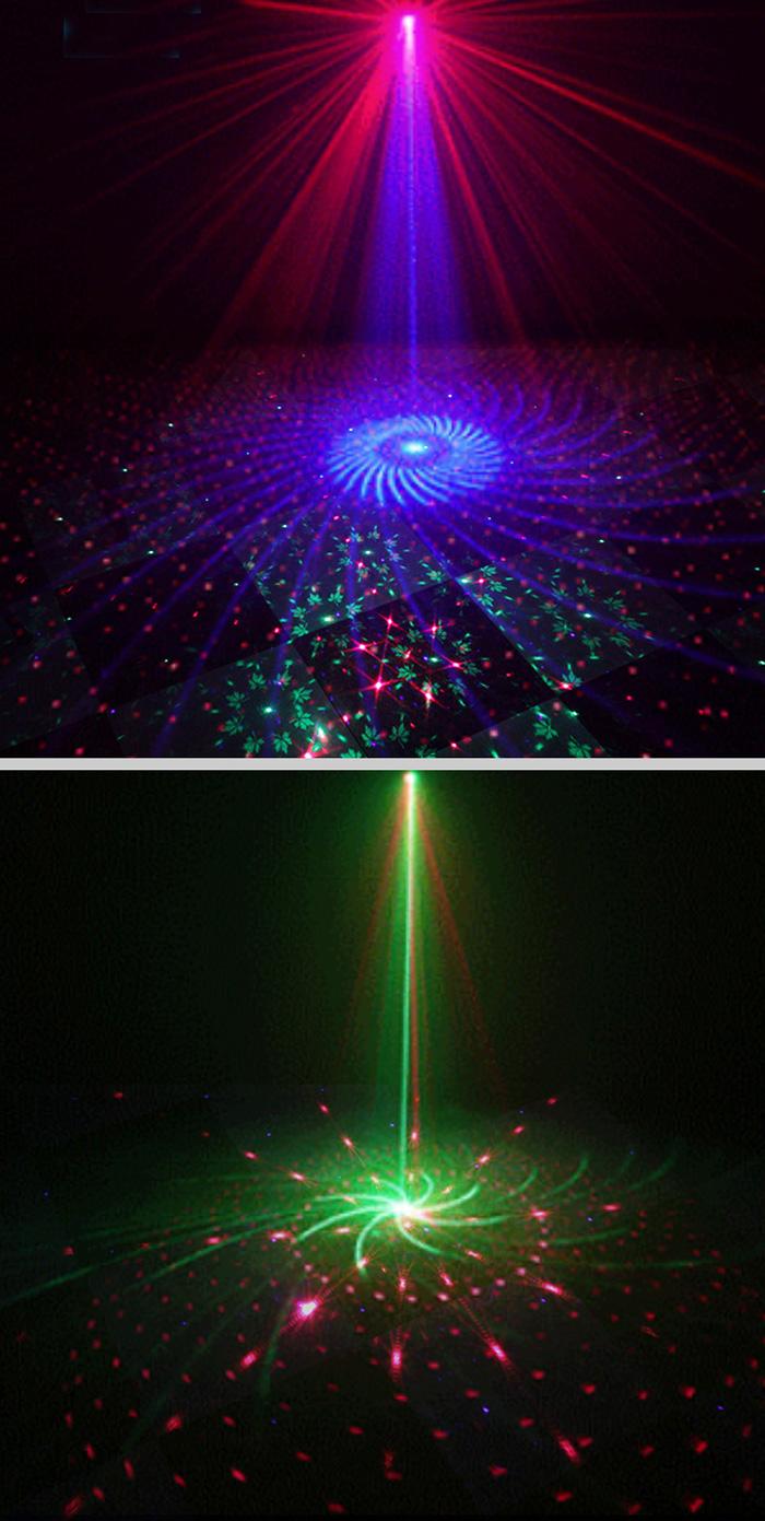 充電式便利 投影ミニレーザーステージライト