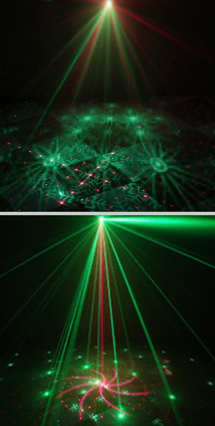 投影ミニレーザーステージライト