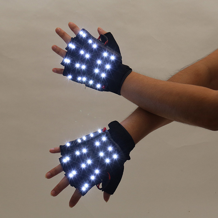 LED電球半指手袋