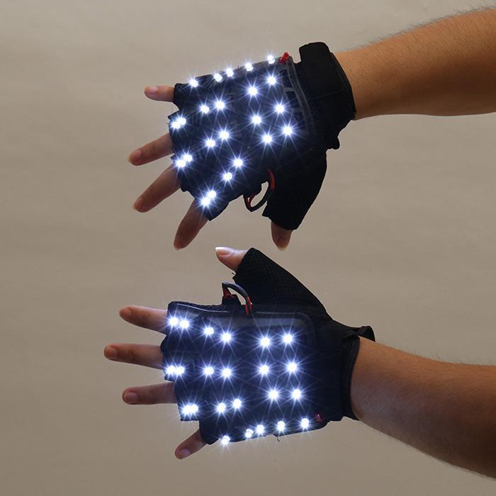 レーザービーム手袋