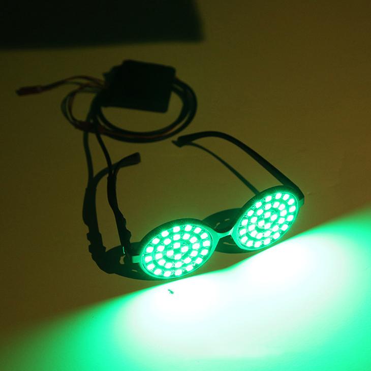 LED変色発光メガネ