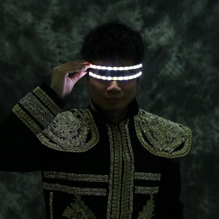 発光メガネ