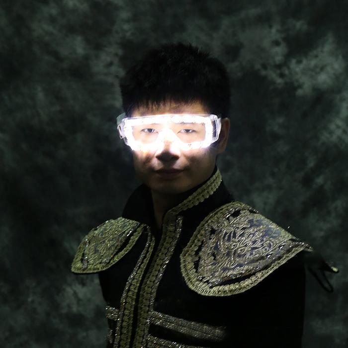 2018 LED発光メガネ