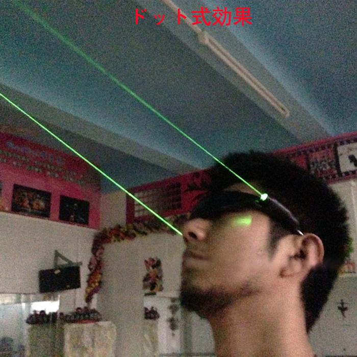 LED発光メガネ、舞台出演に少ない道具