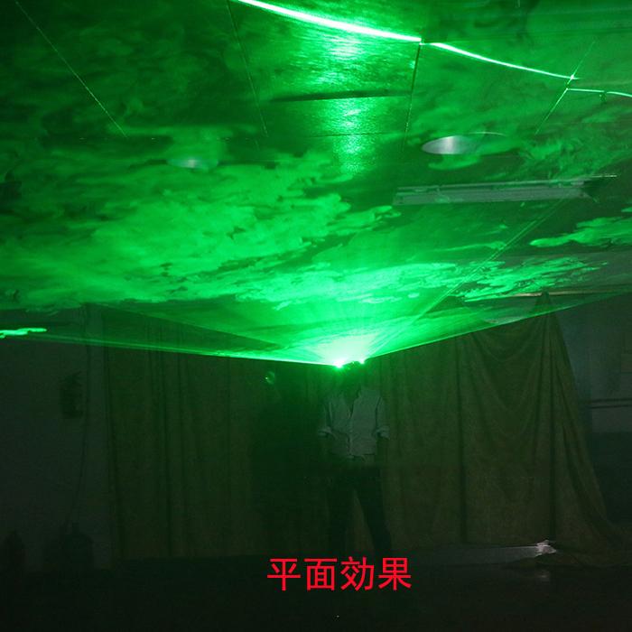 レーザー発光メガネ赤い光100mw可充電ドット式