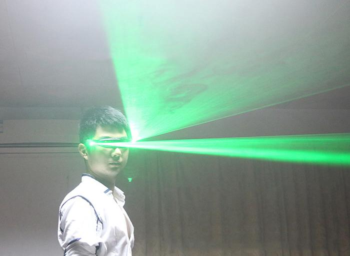 レーザー発光メガネ赤い光100mw可充電点がたくさん式