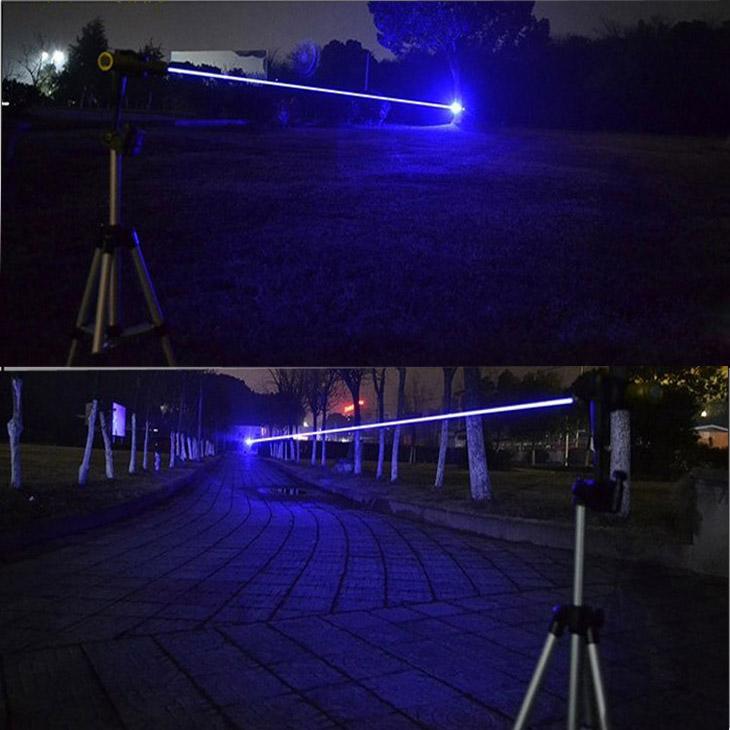 レーザーポインター瞬間焼跡マッチ