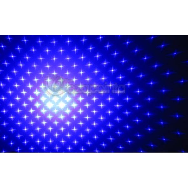 ブルーバイオレットレーザー 星