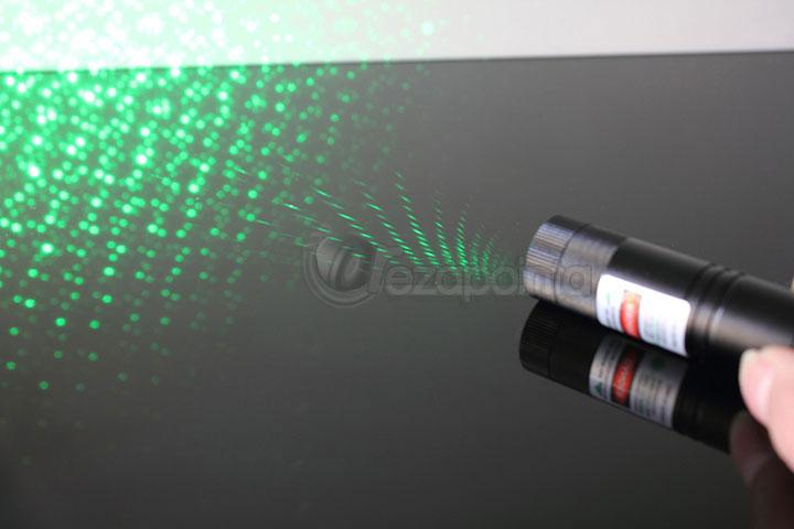 満天星 レーザーポインター グリーン 200mW