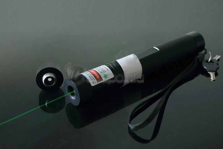 2in1 高出力レーザーポインター グリーン 200mW