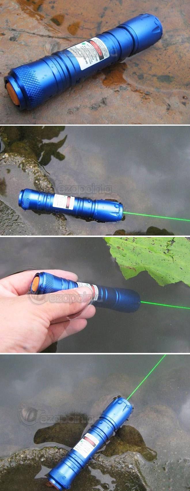 防水グリーンレーザーポインター