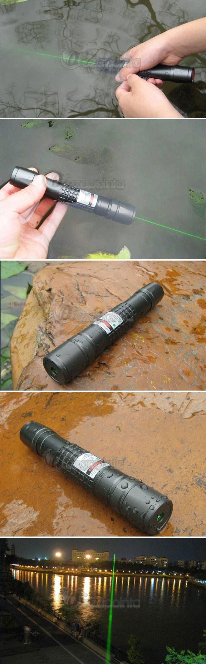 100mW 防水レーザーポインター グリーン