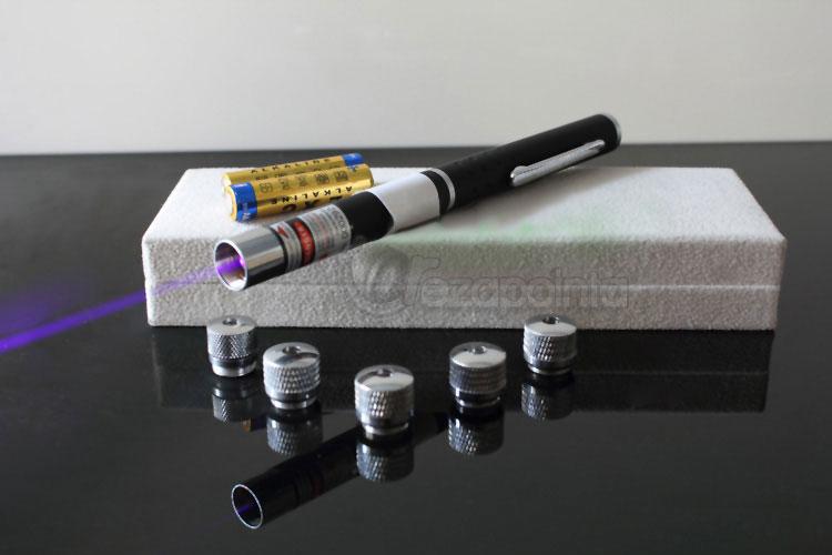 青紫光レーザーポインター
