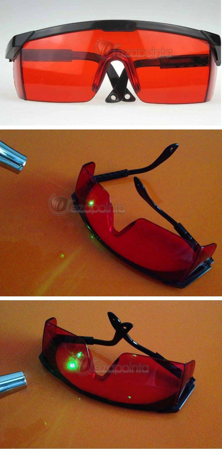グリーンレーザー保護メガネ