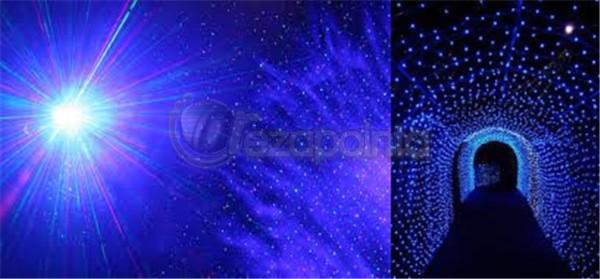 レーザーポインター 青紫光