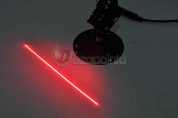 648nm 200mw 赤色レーザー発光モジュール円筒型
