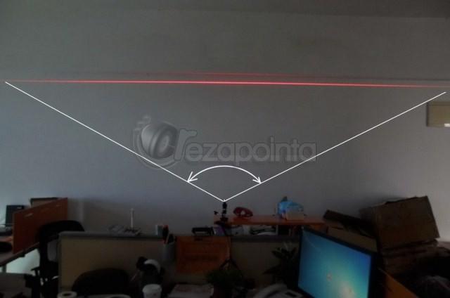 200mw 赤色レーザー発光モジュール円筒型