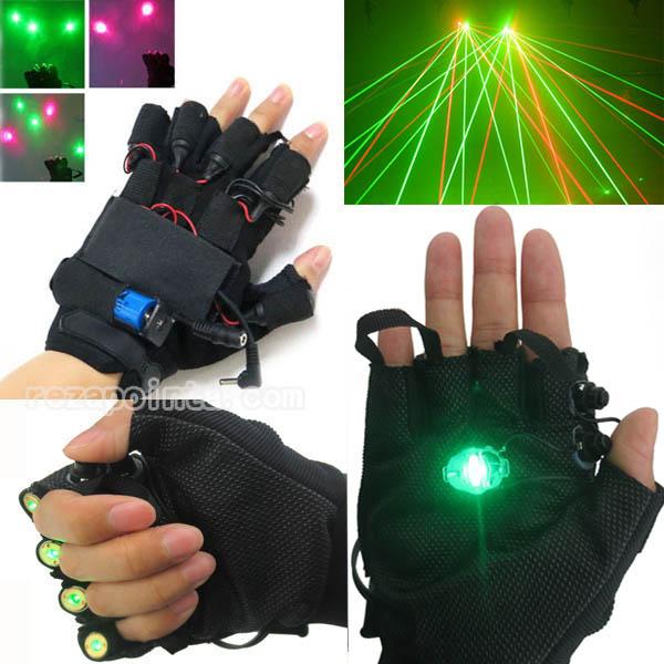 レーザーdjダンス手袋