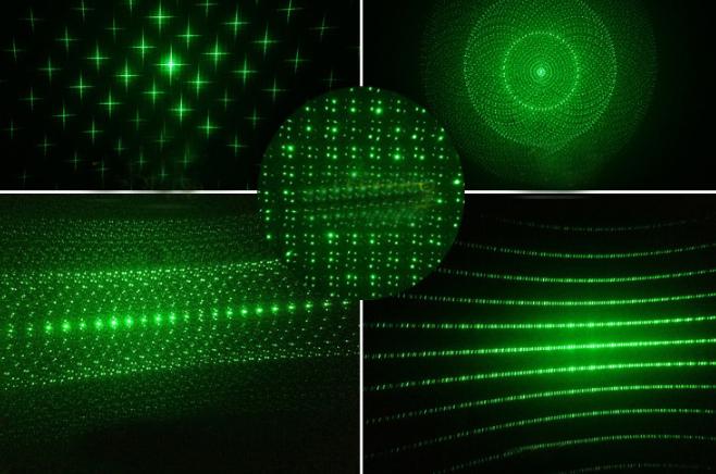 超強力 緑色レーザーポインター
