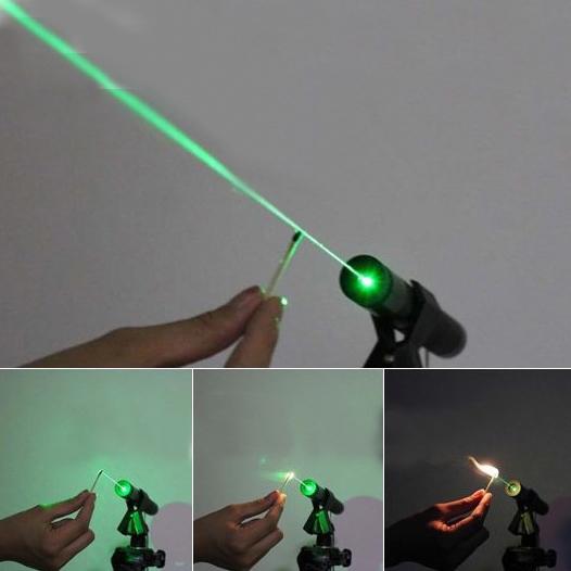 レーザーポインター強力カラスを撃退する