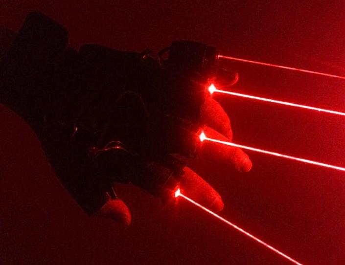 レッドレーザーポインター保護手袋