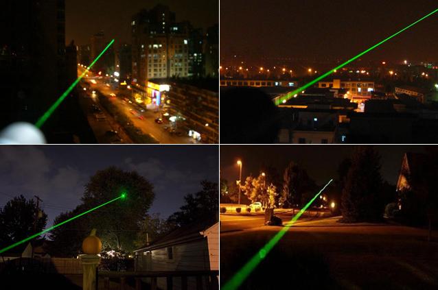 緑レーザーポインター