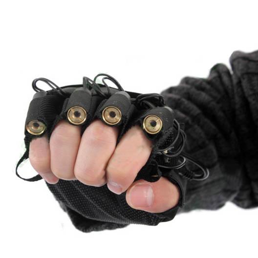 グリーンレーザー手袋